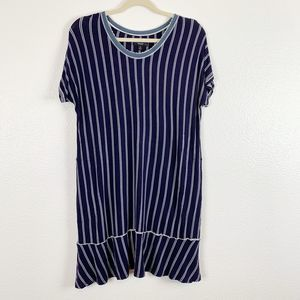 Simply Vera Vera Wang Vertical Stripe Tunic Top
